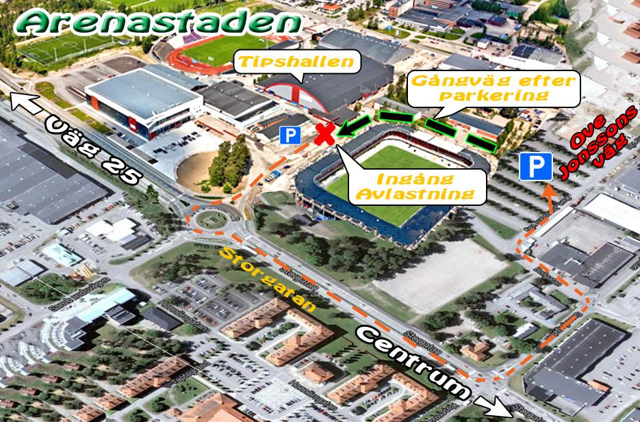 arenastaden växjö karta Tipshallen – Växjö RC klubb arenastaden växjö karta